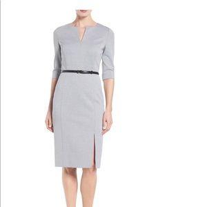 CLASSIQUES ENTIER Stretch Knit Sheath Dress